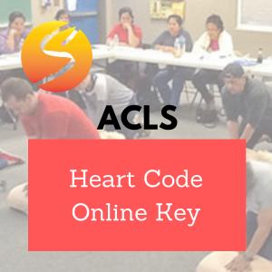 ACLS Heart Code Online Key