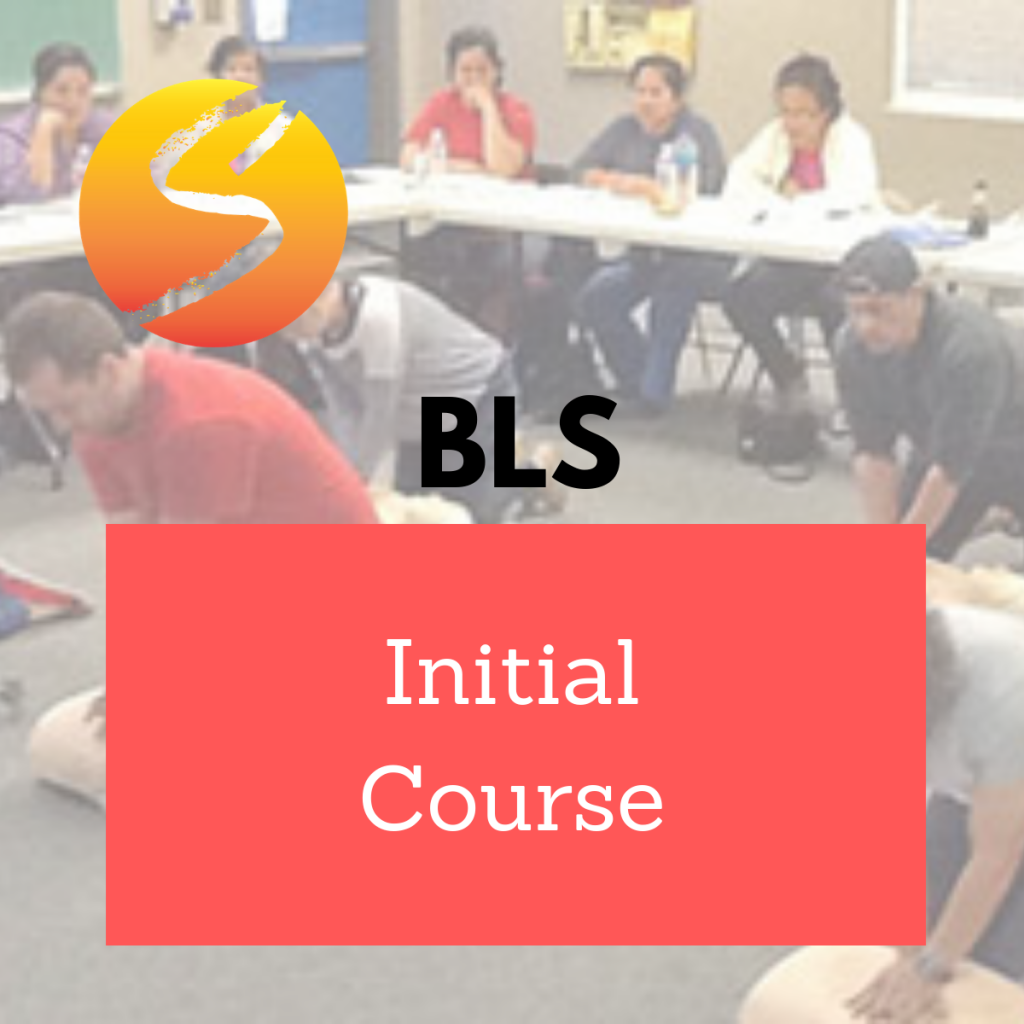 initial sedation certification level adult bls course
