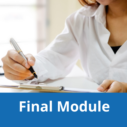 NEW* Final Module: Dental Sedation Rules and Regulations (PII) (ONLINE-ONLY)